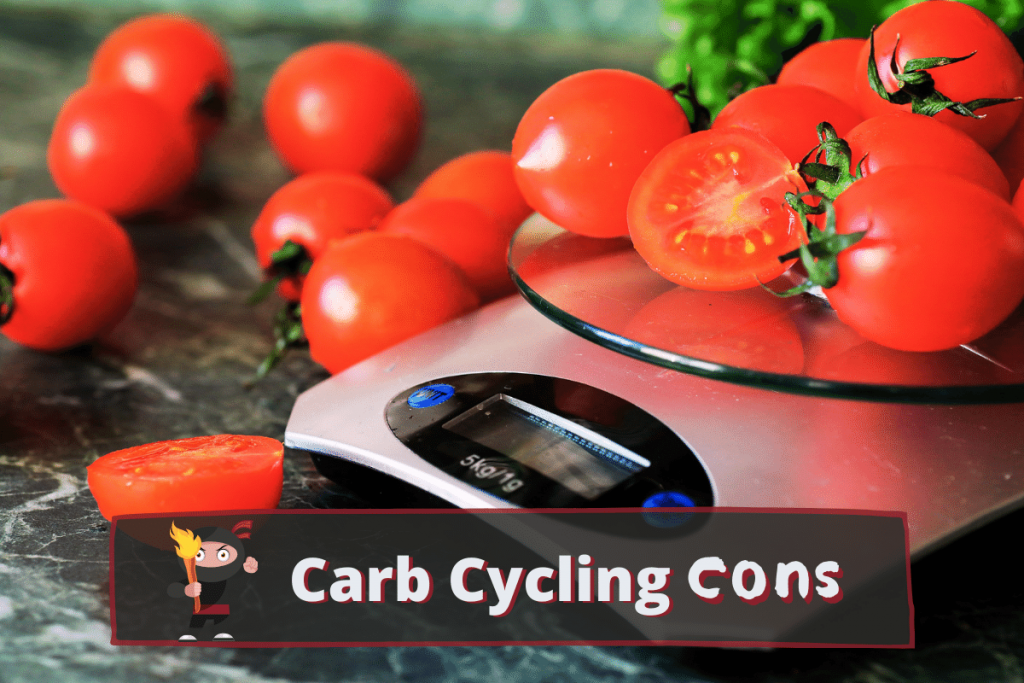 carb cycling cons