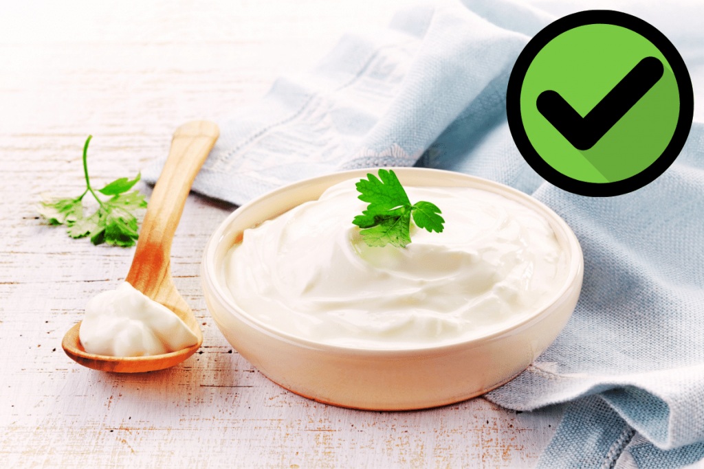 is sour cream keto? YES!